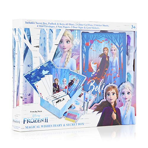 Frozen 2 Magical Wishes Diary & Secret Box for Girls