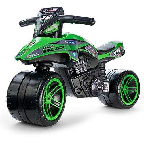 Falk- Porteur Moto Bud Racing Moto & Quads, 502KX, Vert