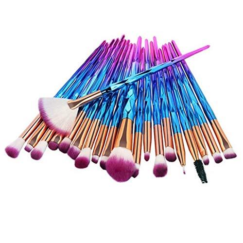 20 stucke Make-Up Pinsel Set Lidschatten Foundation Powder Eyeliner Wimpern Lip Make-Up Pinsel...