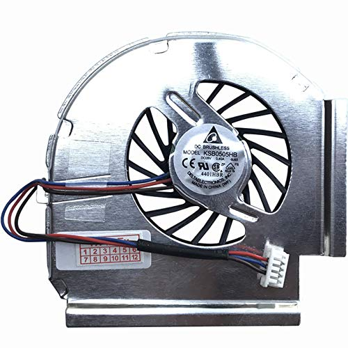 5-Pin / 3 Cable Version Fan Compatible with Lenovo Thinkpad T400 / T500 / W500