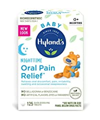 NIGHTTIME RELIEF OF ORAL PAIN, DISCOMFORT AND IRRITABILITY: Naturally relieves the symptoms of oral pain, oral discomfort including sore, sensitive or swelling gums, irritability and occasional sleeplessness at night. EASY TO USE: Easy to administer,...