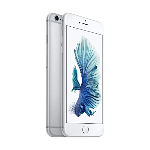 bba3d0181157fe Apple iPhone 6s Plus 128 GB International Warranty Unlocked Cellphone -  Retail Packaging (Silver)