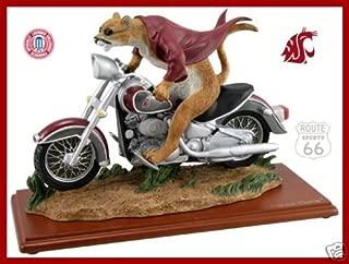 Ridgewood WASHINGTON STATE COUGARS FOOTBALL BASKETBALL MOTORCYCLE NCAA Butch T. Cougar FIGURE FIGURINE