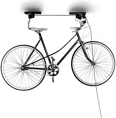 Queta Fahrrad Deckenlift, bis 50kg, Deckenhalter für Fahrräder,der perfekte Helfer für jedes Fahrrad