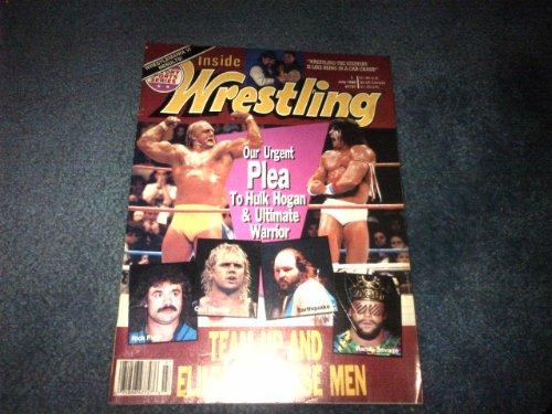 Inside Wrestling July 1990 (Hulk Hogan, Ultimate Warrior, 'Ravishing' Rick Rude, 'Mr. Perfect' Curt Hennig, Earthquake, 'Macho Man' Randy Savage, Jerry 'The King' Lawler, Sting, Owen Hart, Arn Anderson WWF WWE WCW TNA ECW NWO NWA AWA)
