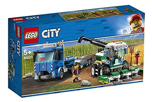 LEGO 60223 City Great Vehicles Transporte de la Cosechadora
