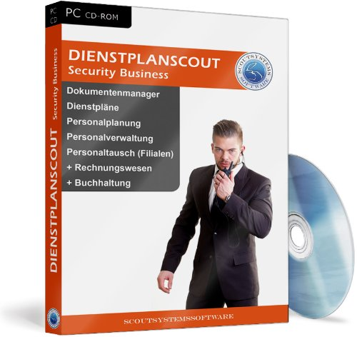 Security Business Software, Personalplanung, Dienstplanung, Angebote u. Rechnungen