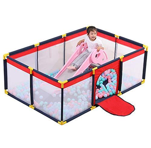 Baby-Laufstall, Robuster Sicherheitsspielplatz Mit Superweichem, Atmungsaktivem Netz,...