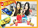 Clip: Happy Meal Toy Surprise - Hot Wheels Toy Cars with Princess ToysReview