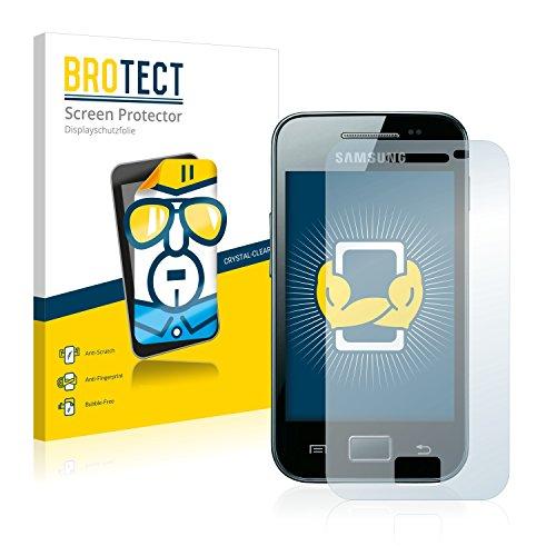 brotect Pellicola Protettiva Compatibile con Samsung Galaxy Ace S5830i Pellicola Trasparente (2 Pezzi) Anti-Impronte