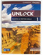 Unlock 1 Reading and Writing Skills - Students Book with Online Workbook