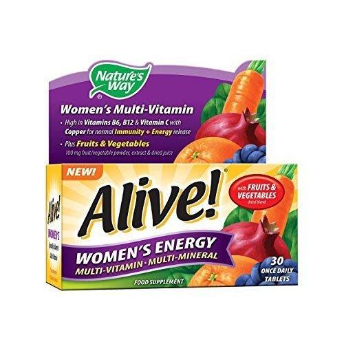 Alive! Women's Energy Multivitamins - 30 tablets