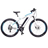 Moscow Plus Electric Mountain Bike 768 Wh 48V/16AH Matte White 27.5'