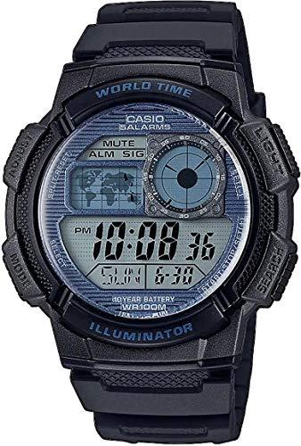 Casio Reloj Digital para Hombre de Cuarzo con Correa en Resina AE-1000W-2A2VEF