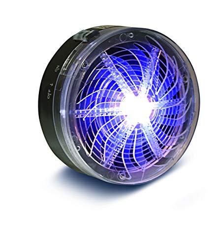 Insektenvernichter ohne Strom | Ideal als Mückenfalle und Fliegenfänger | UV-Licht Fruchtfliegenfalle | Indoor Mückenschutz ohne Chemie