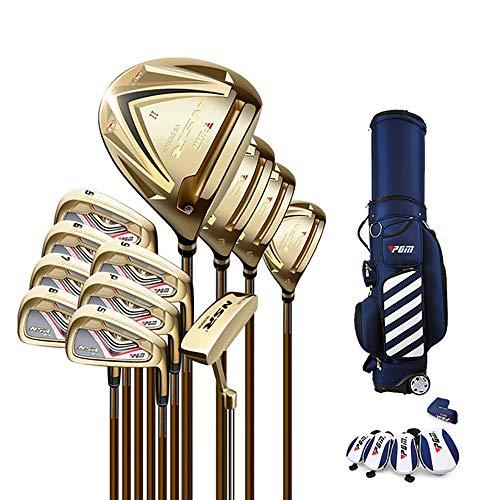 Golfschläger, Golfschlägersatz, Einstellbarer Winkel für den Schaft, ultraleichtes Gewicht, geeignet für professionelle Golfer