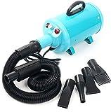 YaeCCC Portable Dog Cat Pet Grooming Dryer 2400w Salon Blow Hair Dryer Quick