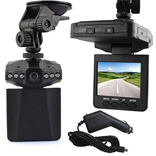 Rokoo 2.5 Pouces HD Voiture LED DVR Route Dash Caméra Vidéo Automobile Blackbox Enregistreur Caméscope LCD Affichage 270 Degrés