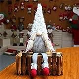 Schiffe aus Deutschland, TriLance Weihnachten Puppe, Weihnachten Deko, Mini Santa Dolls, Weihnachtswichtel, Perfekte Dekoration, für Kinder Geschenke