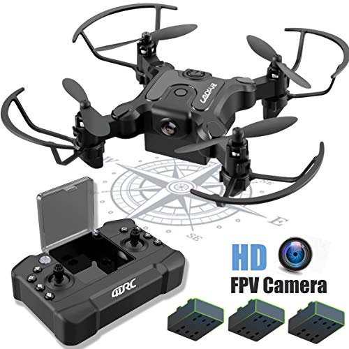 4DRC Mini Drone with Camera for Kids and Adults Beginners RC Foldable Quadcopter,App Control,3D Flips and Headless Mode,One Key Return,Altitude Hold,3 Modular Battery,Gift Toy for Boys and Girls
