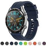 Correa ajustable de repuesto de la marca Tosenpo para relojes Huawei Watch GT Active, Huawei GTR, Huawei 2 pro GTR, 42 mm, azul