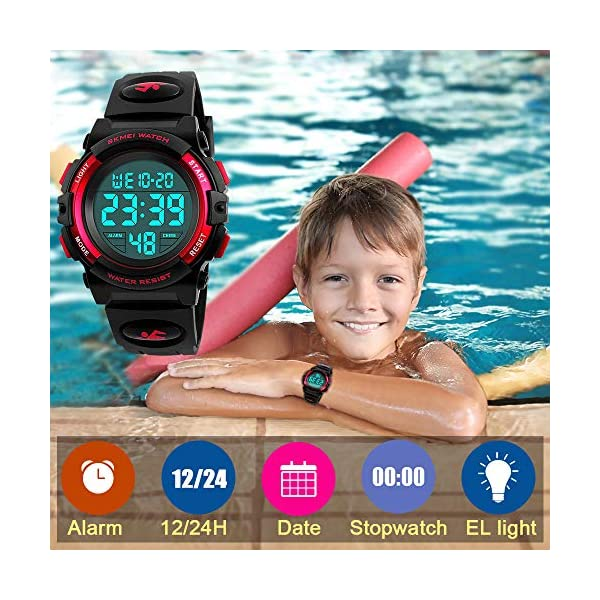 ATOPDREAM Waterproof Sports Digital Watch for Kids – Best Gifts