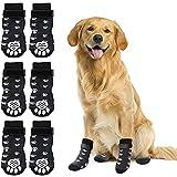 Rypet Anti Slip Dog Socks 3 Pairs - Dog Grip...