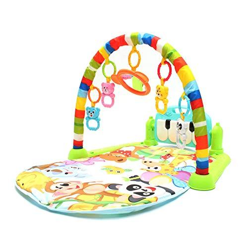 Tapete De Juego Para BebésAlfombrilla De Juego 3 En 1 Para Bebés Y Ni?os, Juego De Pedal Musical, Actividad De Piano, Alfombrilla De Juego Suavepara BebésGimnasios Para Bebés