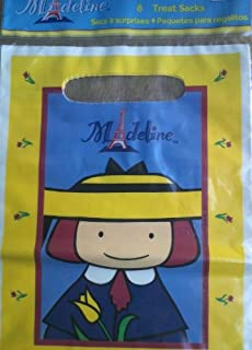 Madeline Party Treat or Loot Sacks 8 in Package By Party Express Hallmark