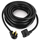 SHZOND 50 Amp 50ft Welding Extension Cord 8 AWG/3C 6-50 Nema Plug Welder Extension Cord for TIG MIG Plasma Lincoln Miller (50ft 8 AWG/3C)