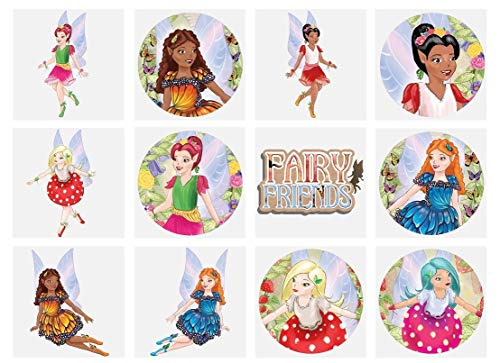 Fantasy Fairy Temporary Tattoos (12 Supplied) Assorted Designs