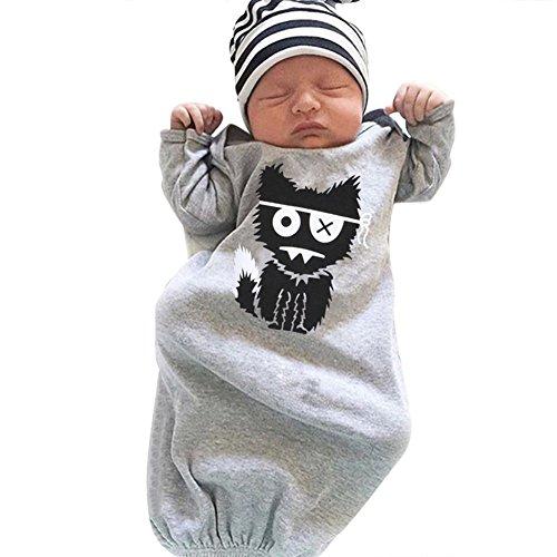 Domybest Niños Ropa Recién Nacido Bebé Saco de Dormir la