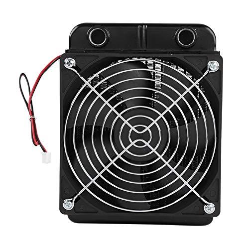 Mxzzand Radiador de refrigeración por agua portátil para llevar para la CPU del ordenador (120mm)