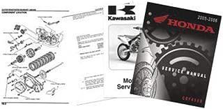 Kawasaki OEM Parts 88-89 Kawasaki KX250 Factory Service Manual