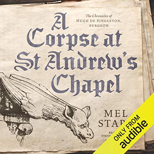 A Corpse at St Andrew's Chapel audiobook cover art