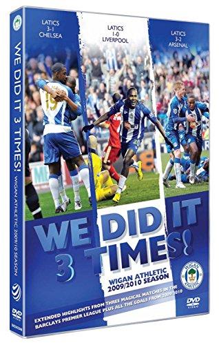 Wigan Athletic 2009/2010 Season - WE DID IT 3 TIMES! [DVD]
