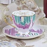 chenaa 180 Ml h Mark Roma Series Bone Tazas De Café Porcelana Tazas De Cerámica En Glaseado Advanced Tazas De Té Y Platillos Sets Regalos