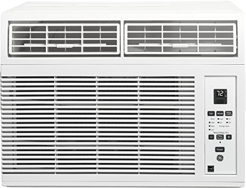 GE AHM06LY 19' Energy Star Qualified Window Air Conditioner with 6000 BTU Cooling Capacity, in White