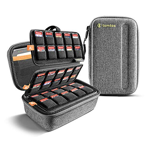 tomtoc 100 Games Storage Case for Nintendo Switch, Game Cards Holder, Cartridges Collection...