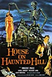 American Gift Services - Vintage Vincent Price Horror Movie Poster House on Haunted Hill - 11x17