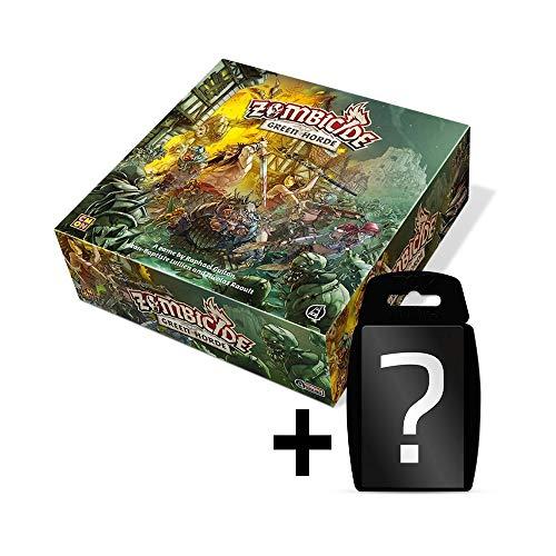 Zombicide - Green Horde - Grundspiel | DEUTSCH | CMON | Set inkl. Kartenspiel