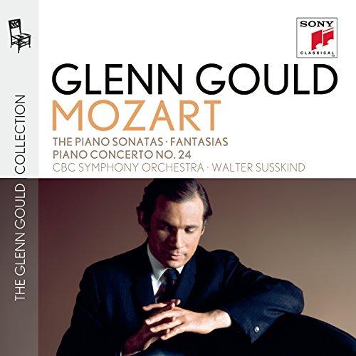 Glenn Gould plays Mozart: The Piano Sonatas (No. 10: Recordings of 1958 & 1970); Fantasias K. 397 & K. 475; Fantasia & Fugue K. 394; Piano Concerto No. 24 K. 491