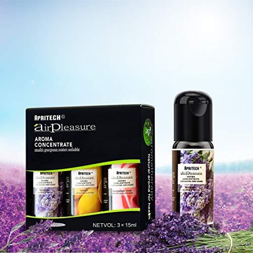 APRITECH® Aceites Esenciales, Aceites esencia de Aromaterapia,100% pu