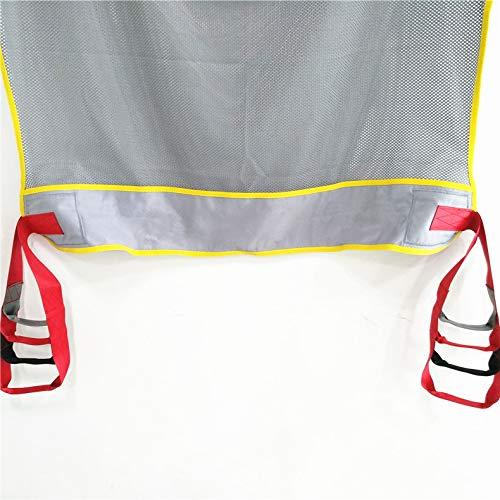 51MHvQiVqcL - DZWJ Esparcidor de Honda de protección Transpirable en Forma de Red Ayuda al Paciente Bariátrica Resistente de Malla de Cuerpo Completo Eslinga de elevación del Paciente