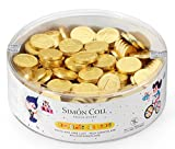 Simon Coll Monedas Chocolate Red, 50 g...