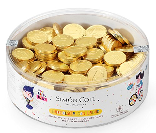 Simon Coll Monedas Chocolate Red, 750 g 300 unidades