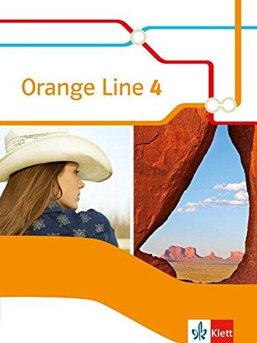 Orange Line 4: Schülerbuch (Flexibler Einband) Klasse 8 (Orange Line. Ausgabe ab 2014)