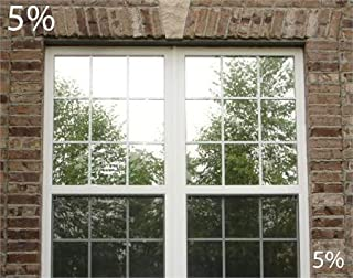 One Way Mirror Film with Nightime Vision 5% VLT (24