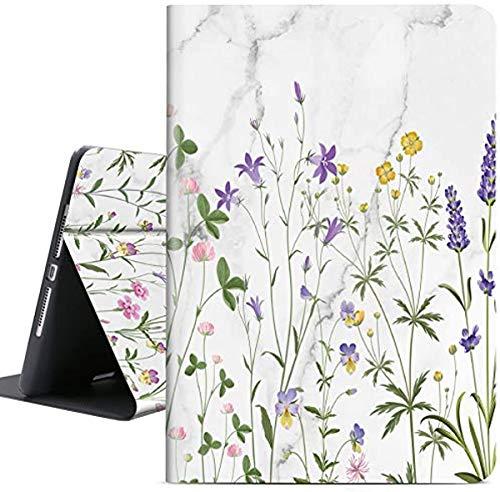 Soft TPU Case for iPad 10.2 / Air 3 10.5 2019 / iPad Pro 10.5 2017, Auto Sleep/Wake with Apple Pencil Holder [Anti Fingerprint][Anti Dirt][Waterproof][Anti Scratch] Case Cover (Country Garden)