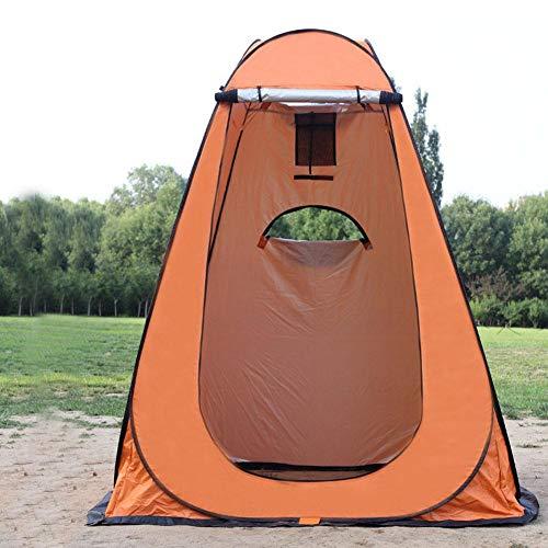 Brillie Camping Pop Up Umkleidezelt Toilettenzelt, tragbare Dusche Privatzelt für Strandwechsel im Freien Badeanzüge Zelte, WC-Zelt, 1,2 1,2 1,9M und 1,5 1,5 1,9M